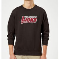 East Mississippi Community College Lions Script Logo Sweatshirt - Black - 5XL - Black - College Gifts