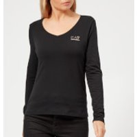 Emporio Armani EA7 Women's Train Evolution Long Sleeve T-Shirt - Black - XS - Black
