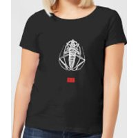 Natural History Museum Bug Fashion Print Women's T-Shirt - Black - XXL - Black - History Gifts