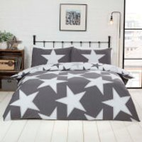 All Stars Duvet Set - Grey - Double - Grey