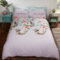 Sloths Duvet Set - Multi - Double - Multi