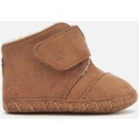 TOMS Babies Cuna Microfiber Boots  Toffee  UK 3 Baby  Tan