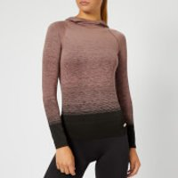 Pepper & Mayne Women's Goddess Compression Hoody - Rose/Black - L - Pink