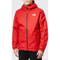 The North Face Men's Quest Insulated Jacket - Rage Red Black Heather - XL - Red