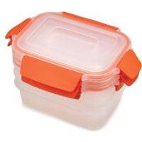 Joseph Joseph Nest Lock 3-Piece Food Storage Containers - Orange