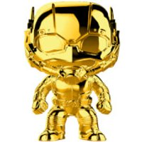 Marvel MS 10 Ant-Man Gold Chrome Pop! Vinyl Figure - Chrome Gifts