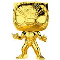 Marvel MS 10 Black Panther Gold Chrome Pop! Vinyl Figure - Chrome Gifts