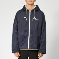 Drole de Monsieur Men's Hooded Not From Paris Madame Jacket - Navy - L/XL - Blue