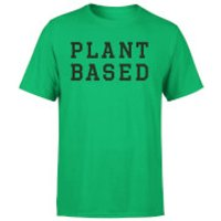Plant Based Men's T-Shirt - Kelly Green - L - Kelly Green