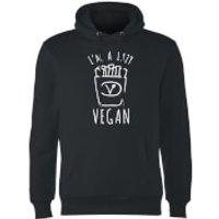 Lazy Vegan Hoodie - Black - M - Black - Lazy Gifts