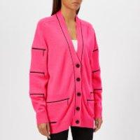 Christopher Kane Women's Cashmere Zip Cardigan - Neon Pink - S - Pink
