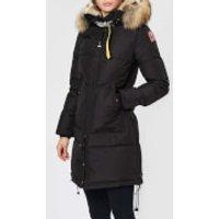 Parajumpers Womens Long Bear Coat - Black - XS
