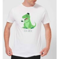 Tea Rex Men's T-Shirt - White - XXL - White - Tea Gifts