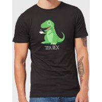 Tea Rex Men's T-Shirt - Black - XXL - Black - Tea Gifts