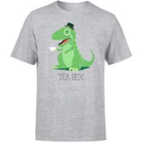 Tea Rex Men's T-Shirt - Grey - XXL - Grey - Tea Gifts