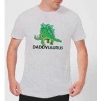 Daddysaurus Men's T-Shirt - Grey - XXL - Grey