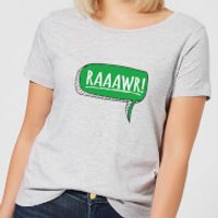 Raaawr Women's T-Shirt - Grey - XL - Grey