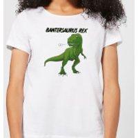Bantersaurus Rex Women's T-Shirt - White - XS - White