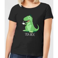 Tea Rex Women's T-Shirt - Black - XXL - Black - Tea Gifts