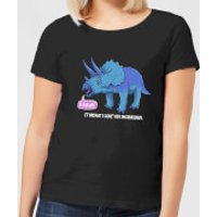 Rawr It Means I Love You In Dinosaur Women's T-Shirt - Black - XXL - Black - Love Gifts