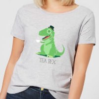 Tea Rex Women's T-Shirt - Grey - XXL - Grey - Tea Gifts