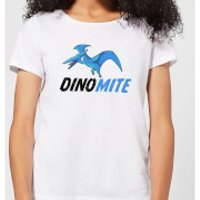 Dino Mite Women's T-Shirt - White - XL - White