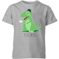 Tea Rex Kids' T-Shirt - Grey - 3-4 Years - Grey - Tea Gifts