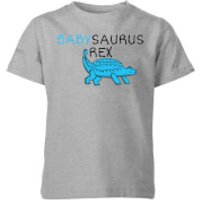 Babysaurus Rex Kids' T-Shirt - Grey - 11-12 Years - Grey