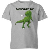 Bantersaurus Rex Kids' T-Shirt - Grey - 11-12 Years - Grey - Kids Gifts