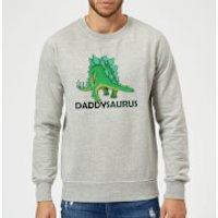 Daddysaurus Sweatshirt - Grey - 5XL - Grey