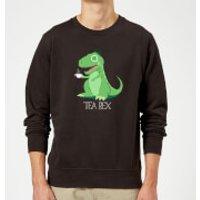 Tea Rex Sweatshirt - Black - XXL - Black - Tea Gifts