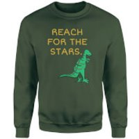 Reach For The Stars Sweatshirt - Forest Green - XXL - Forest Green - Green Gifts