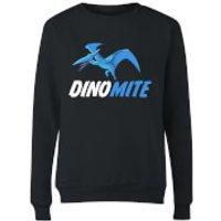 Dino Mite Women's Sweatshirt - Black - XS - Black