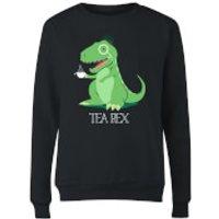 Tea Rex Women's Sweatshirt - Black - XXL - Black - Tea Gifts