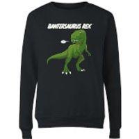 Bantersaurus Rex Women's Sweatshirt - Black - XXL - Black - Black Gifts