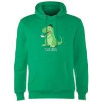 TeaRex Hoodie - Kelly Green - M - Kelly Green - Green Gifts