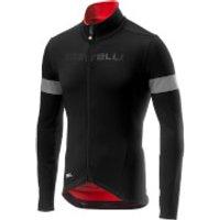Castelli Nelmezzo RoS Jersey - L - Black/Red