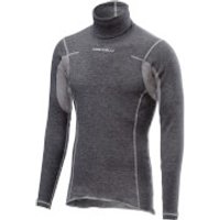 Castelli Flanders Base Layer with Neck Warmer - M - Grey