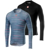 Castelli Prosecco Long Sleeved Baselayer - Black - L - Black