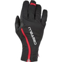 Castelli Spettacolo RoS Gloves - Black/Red - S - Black/Red