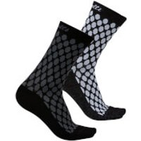 Castelli Women's Sfida 13 Socks - S-M - Brilliant Pink