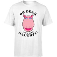 Rainbow You Are Naughty! George Men's T-Shirt - White - 3XL - White