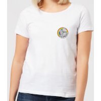 Rainbow George Pocket Women's T-Shirt - White - L - White - Rainbow Gifts