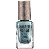 Barry M Cosmetics Molten Metal Nail Paint (Various Shades) - Blue Glacier
