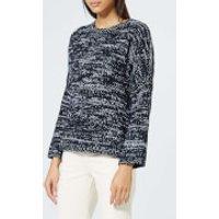 A.p.c. Sigrund Knitted Jumper - Dark Navy