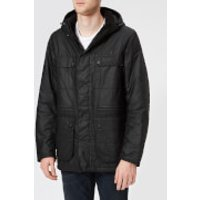 Barbour International Mens Imboard Wax Jacket - Black - M - Black