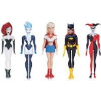 DC Comics Batman Animated Nba Girls Night Out 5 Pack Action Figure