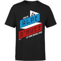 ALPE D'HUEZ Men's T-Shirt - Black - XL - Black