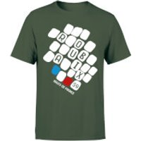 Roubaix Men's T-Shirt - Forest Green - M - Forest Green