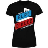 ALPE D'HUEZ Women's T-Shirt - Black - L - Black